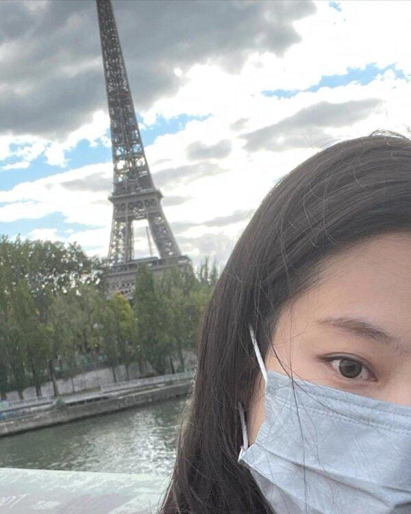 BLACKPINK Jennie's Outfit on Instagram on October 11, 2021