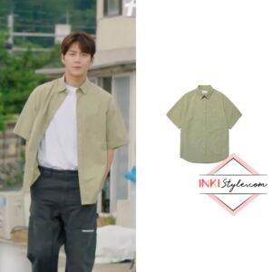 Kim Seon-ho's Tie Dye Half Shirt in Hometown Cha Cha Cha
